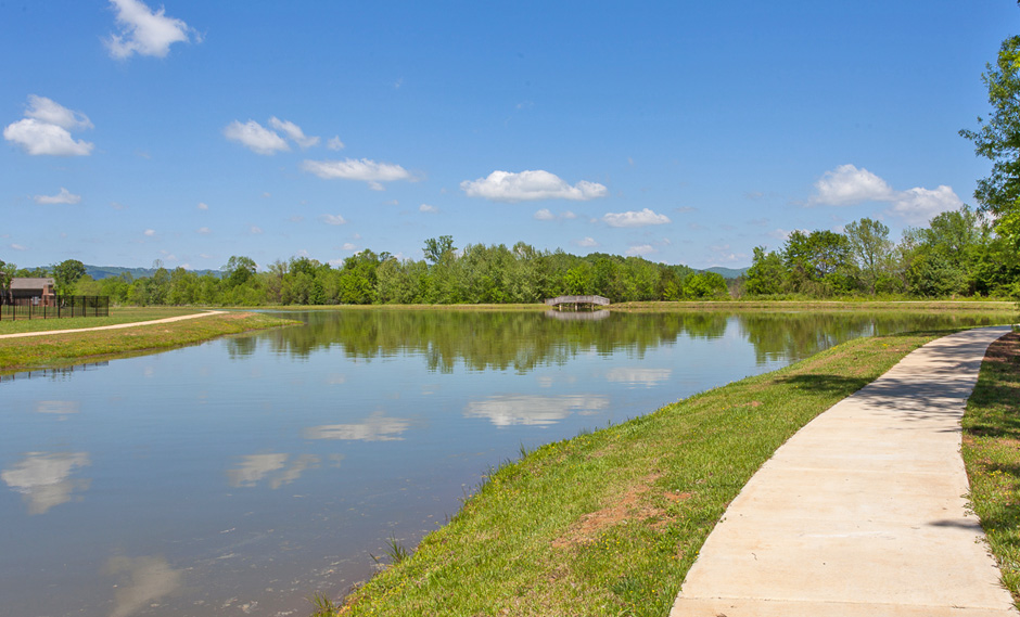 Another View of the Fishing Pond and Walking Path