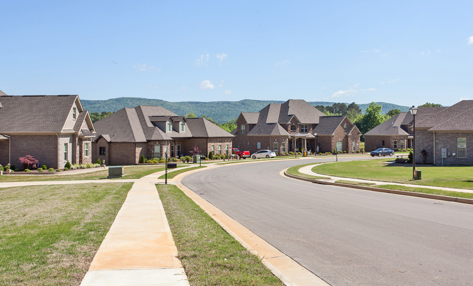 View of Homes in the Community